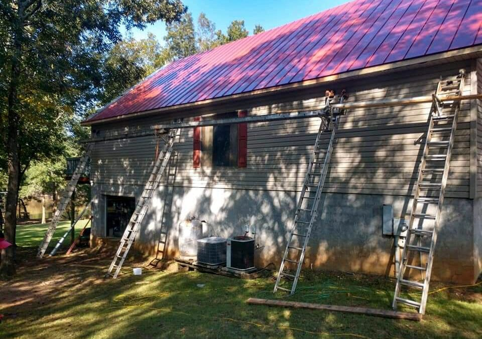 Metal Roofing Projects by Kent Construction